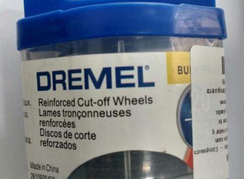"""Dremel Disco 426B Fibra de Vidro 1-1/4"""" 20un"""