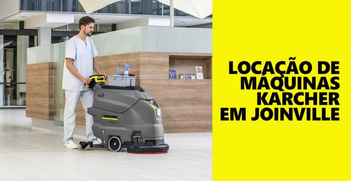 Locação de máquinas Karcher em Joinville