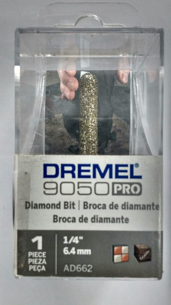 "Dremel Broca Diamantada AD662 1/4"""
