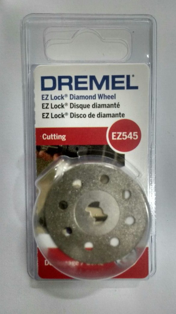 "Dremel Disco de corte p marmore/concreto – EZ-545 Diamantado 1-1/2"""